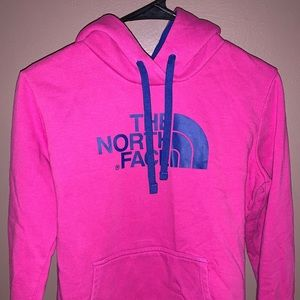 The North Face Hoodie (Pink & Blue)